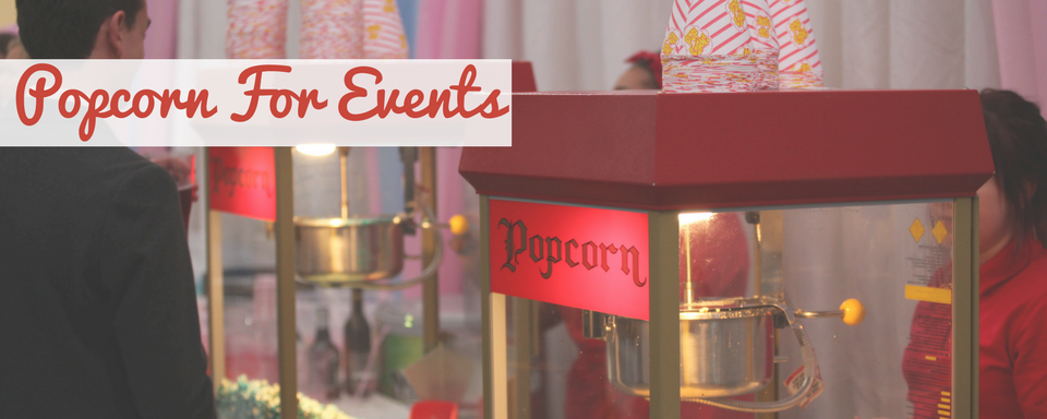 Popcorn Machine Hire for events in Hampshire. Book papa's popcorn machine for your party